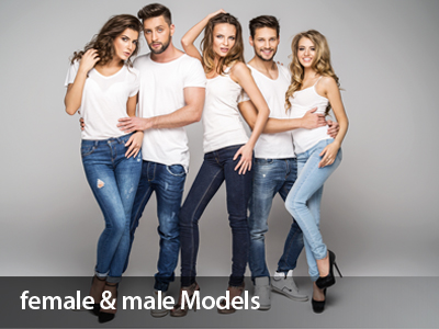 Female and Male Models