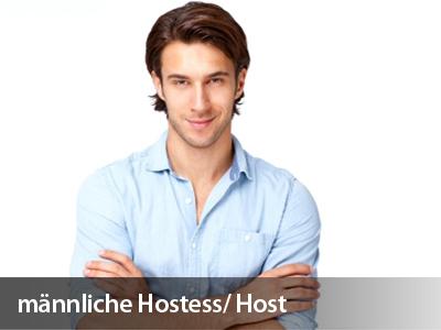 Männliche Messehostessen / Hosts